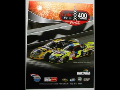 NASCAR Coke 400 Daytona Program Cover
