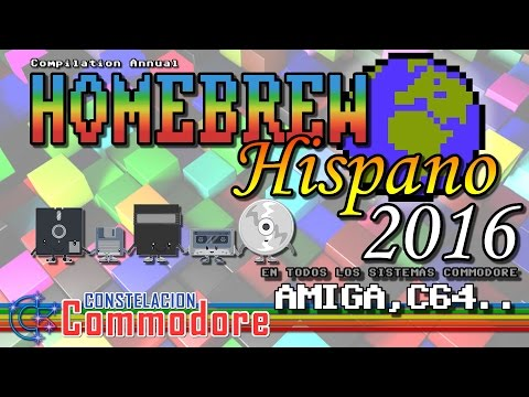 Homebrew Hispano Año 2016 (Amiga, C64 ..) | Homebrew World #0001