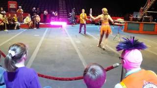 Samantha and Terry's Ringling Bros. Circus Debut!!!