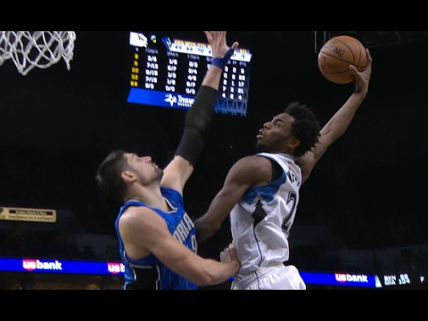Andrew Wiggins Flies High and Throws It DOWN | 01.30.17
