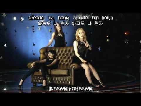 T ARA - day and night  (sub español+hangul+romanizacion)