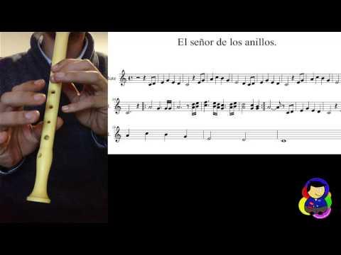 El Señor de los anillos - Tutorial Flauta Dulce