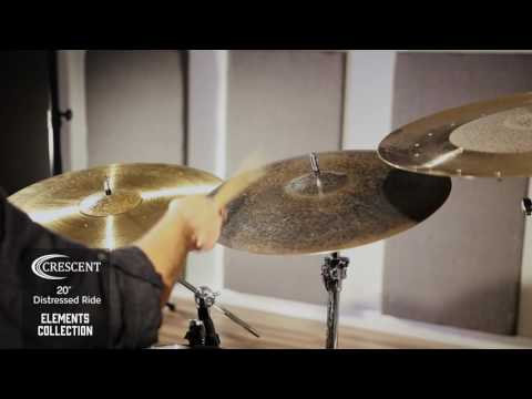 "20"" Crescent Element Distressed Ride by SABIAN"