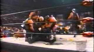 Sting returns and attacks NWO 12-08-97