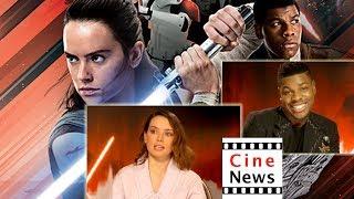 STAR WARS: The Last Jedi – Interview: Daisy Ridley & John Boyega