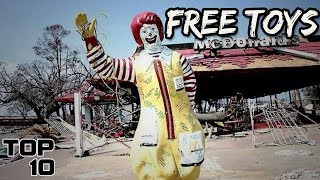 Top 10 Scariest McDonald's Happy Meal Toys