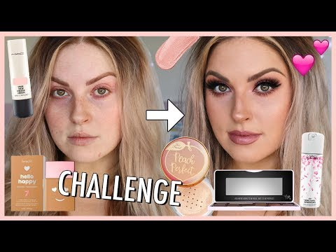 FULL FACE of PINK MAKEUP challenge! ? Get Ready With Me!