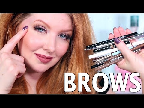 Top Favorite Brow Makeup Products + Best Shades for Red Hair!