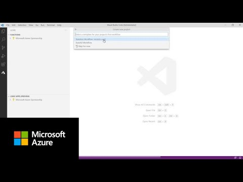 How to use the VS Code Logic Apps extension to create stateless workflows   Azure Tips and Tricks