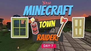 Minecraft: Town Raider - SandBox Man Episode 7 Day 7