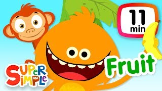 The Super Simple Show - Apples & Bananas! | Kids Songs & Cartoons