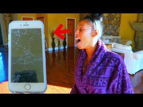 DESTROYED MY FIANCE iPhone 8 PRANK (EPIC REVENGE PRANK)
