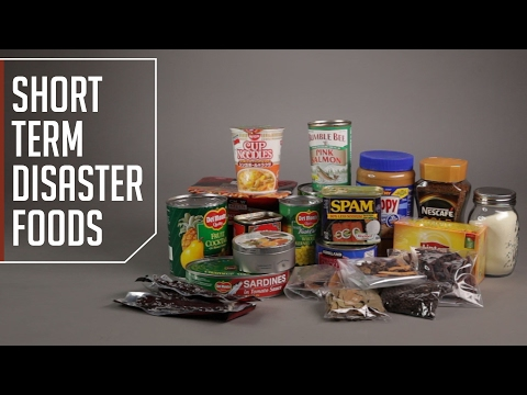 Short Term Disaster Foods