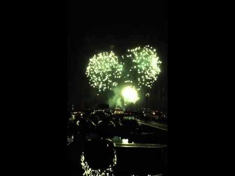 Fuochi d'artificio a Porto Vecchio
