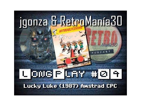 Lucky Luke - Amstrad CPC Longplay