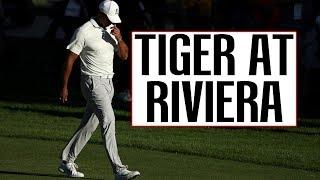 Tiger Woods at Riviera - 2018 Genesis Open
