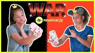 """MUSICAL.LY WAR """" HOW TO MAKE CLEAR EMOJI ON MUSICALLY """" SISTER FOREVER"""
