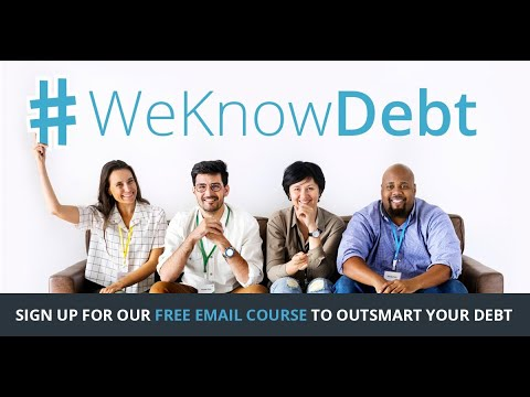 Ready to become your own financial advocate? Debt.com has distilled complex personal finance topics into short, jargon-free, monthly emails. Sign up for the FREE #WeKnowDebt: 2020 Vision course to make sure you don't miss any of the monthly emails.