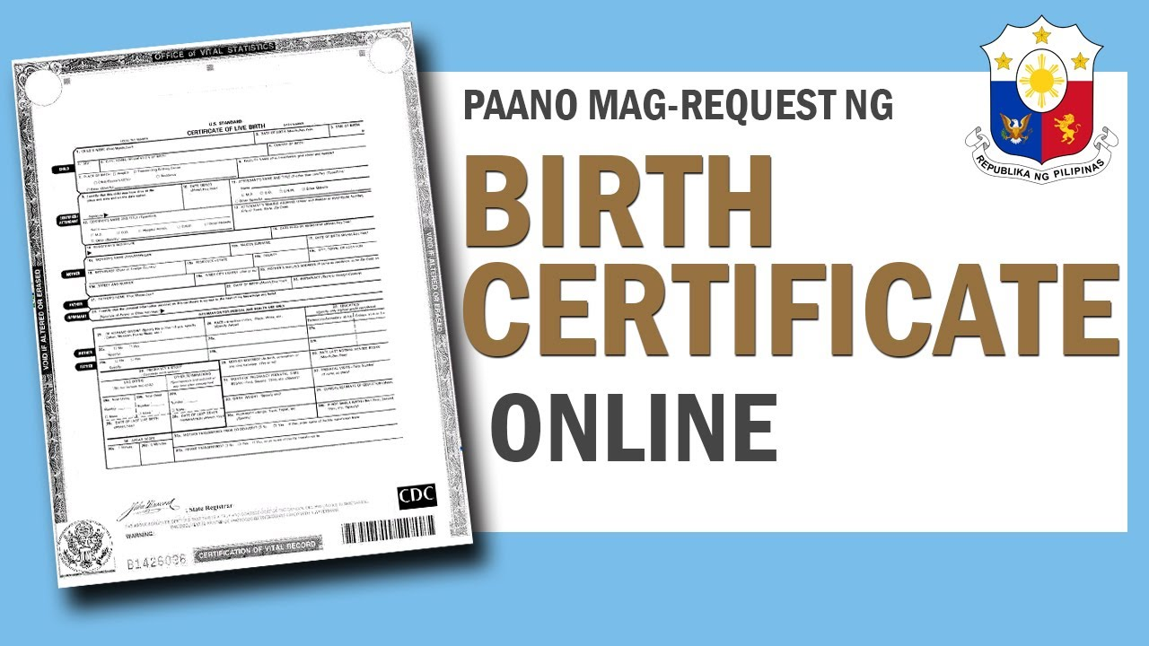 on-online-birth-certificate
