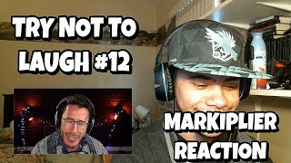TRY NOT TO LAUGH #12 | Markiplier Reaction