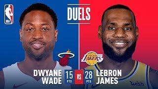 Historic Final Duel in LA: LeBron vs Wade | December 10, 2018