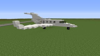 Minecraft How to Build: Private Jet