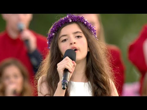 Angelina Jordan - It's Now or Never (Allsang på grensen 2017)