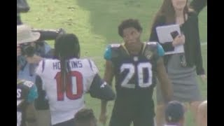 Jalen Ramsey Mic'd Up vs DeAndre Hopkins