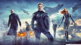 MARVEL'S CAPTAIN AMERICA THE WINTER SOLDIER BEST FIGHT SCENE FROM THE MOVIE FULL HD