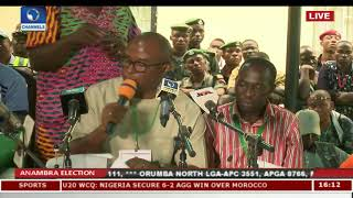 Live Updates: Collation Of Final Results For Anambra Gov'ship Election Pt.26