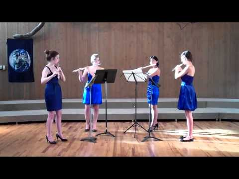 Areon Flutes Education! Areon Chamber Music Institute Performs Frederick the Great Quartet