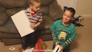Spoiled Kids React to CHEAP Christmas Presents 2018! #106