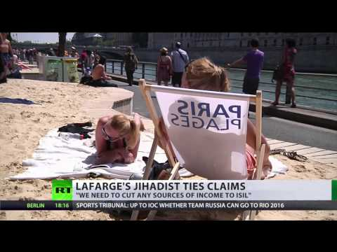 ISIS Beach? Sand supplied from Lafarge under fire for alleged terror connection