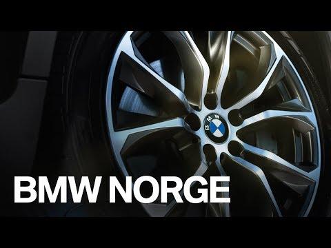 BMW Originale felger og dekk.