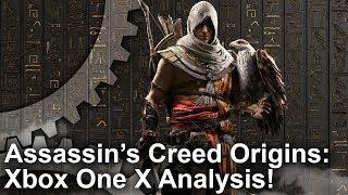 Assassin's Creed Origins - Xbox One X vs PS4 Pro vs PC Grafikai Összehasonlítás