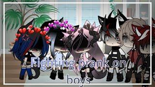 Fighting with my best friends//prank on boys//enjoy