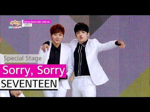 [HOT] SEVENTEEN - Sorry, Sorry, 세븐틴 - 쏘리쏘리, Show Music core 20150912