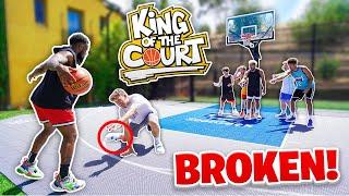 I BROKE HOOPER HOOPER'S ANKLES! 2HYPE Basketball King Of The Court!