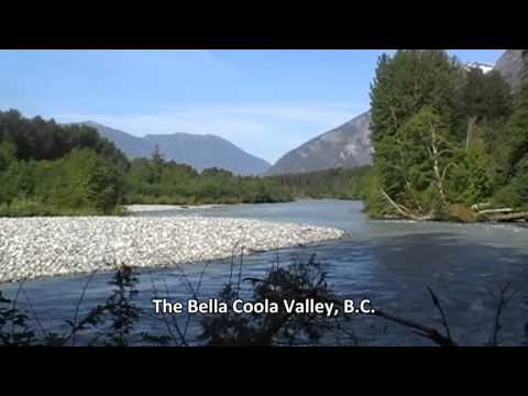 The ferry to Bella Coola and the Bella Coola Valley, BC