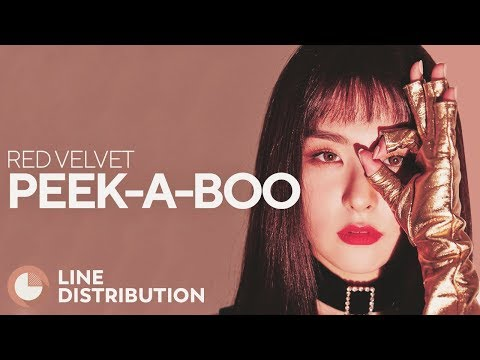 RED VELVET - Peek-A-Boo (Line Distribution)