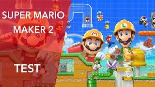 Vidéo-Test : TEST | Super Mario Maker 2 - Liberté, créativité, communauté !