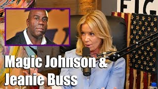 Magic Johnson's Relationship with Lakers Owner Jeanie Buss
