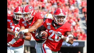 #3 Georgia Highlights Vs. Murray State 2019 | CFB Week 2 | College Football Highlights 2019