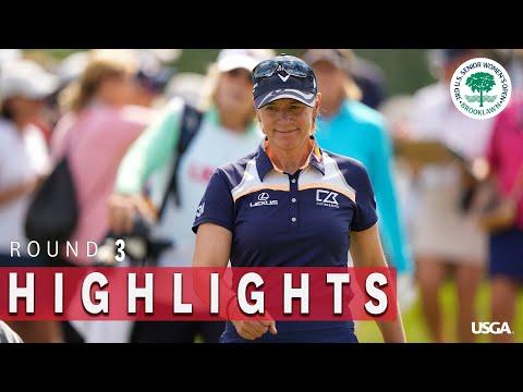 Highlights: 2021 U.S. Senior Women's Open, Round 3