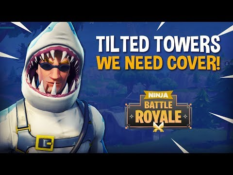 Tilted Towers: We Need Cover!! - Fortnite Battle Royale Gameplay - Ninja