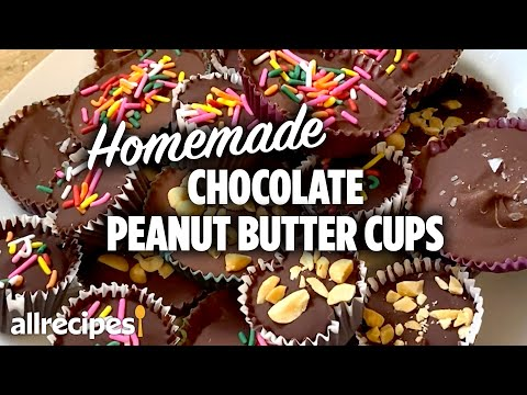 How to Make Homemade Chocolate Peanut Butter Cups   At Home Recipes   Allrecipes.com