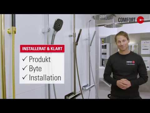 Comfort Installerat & Klart - Allt vi säljer kan vi installera, i tid och till fast pris.