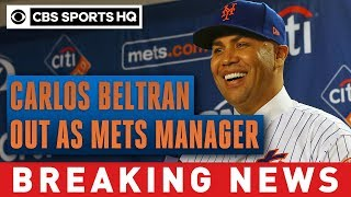 Mets manager Carlos Beltran out after being implicated in sign-stealing scandal   CBS Sports HQ