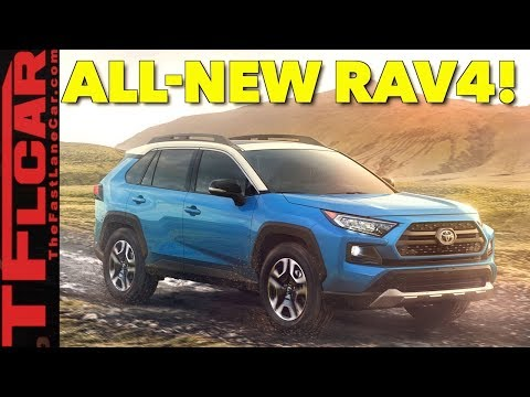 Breaking News: All New 2019 Toyota RAV4 Has 6 Cameras and More!