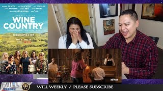 Wine Country Trailer #1 2019 REACTION